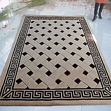Wolle Wohnzimmerteppich Teppiche Stilvoller Couchtisch Solide Luxus Und Wohnzimmer Teppich