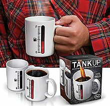 Aliciashouse Magische Farbwechsel Tasse Thermometer Kaffee-Haferl Tank, Tassen