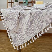 Aus Baumwolle Und Leinen Tischdecken/American Land Tischdecke/Tee Tischdecke/Tischtuch/Garten Frische Tischdecken-J Durchmesser180cm(71inch)