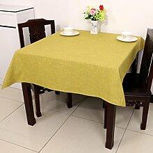 Baumwolle Garten Tischdecke/Leinen Tabelle Tuch Tischdecke/Tee Tischdecke-B 90x150cm(35x59inch)