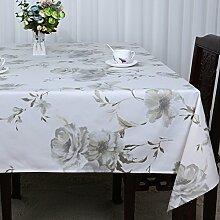 Baumwolle Garten Tischdecke/Leinen Tabelle Tuch Tischdecke/Tee Tischdecke/Schreibtisch-tischdecke-N 150x150cm(59x59inch)