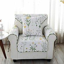 Baumwolle Stoff Sofakissen/ vier Jahreszeiten-Garten-Sitzplatz/ einfach Slip Sofa moderne Handtuch-A 110x180cm(43x71inch)