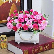 Beata.T Künstliche Blumen Anzug Garten Blume vergossen Wohnzimmer Dekoration Blumen künstliche Blume Kunst Dekoration Seide, f Beata.T Künstliche Blumen Anzug