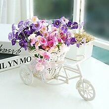 Beata.T Künstliche Blumen Heimtextilien Ornamente Plastik Blumendekoration Blumen Garten Blumen, B