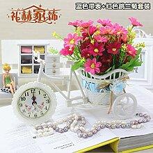 Beata.T Künstliche Blumen Home Ornamente Ornamente Kunststoff Blume Dekoration Blumen Garten Blumen Platziert Blumen, Ich