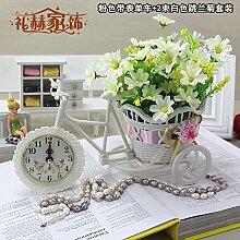 Beata.T Künstliche Blumen Home Ornamente Ornamente Kunststoff Blume Dekoration Blumen Garten Blumen Platziert Blumen, A