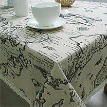 bedrucktem leinen tischdecke bettwäsche für handtuch universal tischdecke,60 * 60