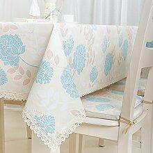Bester Wert Baumwolldrucktuch Tapete Hirtenquadrat Tischdecke Couchtisch Tischdecke (Optionale Größe) Für jeden Tisch ( größe : 120*180cm )