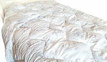 Blommenslyst Bedruckte Mikrofaser Bettdecke Decke mit Blumenmotiv 200x220cm