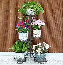 Blumen Regale Blumentreppe Blumen Regale , dekoratives Design, Garten/Terrasse,Pflanzentreppe Blumenbank ( Farbe : 6 )