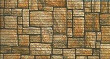 Bodenbelag Floor comfort Weichschaum Badematte Matte Steine Cobbles 65 breit Meterware