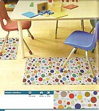 Bodenbelag Floor comfort Weichschaum Matte modern bubbles 65 breit Meterware