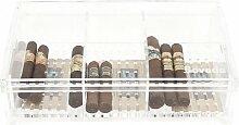 Boveda Large Acrylic Humidor - Holds 75 Robusto or 50 Churchill by Boveda