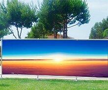 Brise Vue bedruckt, Garten, Terrasse, Balkon Soleil, 100%, 250x97cm