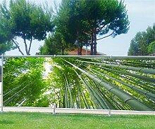 Brise Vue, Garten, Terrasse, Balkon Deko Bambus, 100%, 340x132cm
