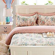 Damjic North American Wind Prinzessin Koreanischen Garten Suite Mit Vier Gebl¨¹mter Bettw?sche Baumwolle Ein K?nig