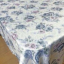 Der Stil Der Garten Tischdecke,Kaffee Tuch Handtuch Mit Handtuch,Staubabdeckung Außenhandel Frische Tischmatte Quadratisches Tischtuch-K 140x220cm(55x87inch)