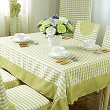 Der Stil Der Garten Tischdecke,Kissen Und Bezüge Für Die Stühle,Stoff-tischdecke,Gitter Tischdecke Staub Tuch-E 110x110cm(43x43inch)