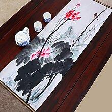 Der Stil Der Garten Tischläufer/Stil Klassische Tischdecke-N 33x150cm(13x59inch)