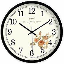 DIDADI Wall Clock kreative modernen europäischen garten einfach wohn - und schlafzimmer wanduhr quarz - uhr uhr 12 cm