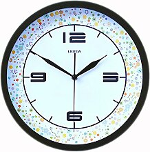 DIDADI Wall Clock Stilvolle Wanduhr kreative Wanduhr - Tabelle 12 Zoll mute Wohnzimmer Wanduhren garten Wanduhr