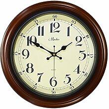 DIDADI Wall Clock Wanduhr kreative Stummschalten die übergroßen Wohnzimmer Wand Uhr moderne Garten-Stil Antike Uhr Tabelle 30cm