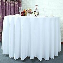 einfache frische Tischdecken/Runder Tisch aus massiver Tuch/wasserdichte Tapete/Tischdecke decke/Tischdecken-J Durchmesser260cm(102inch)