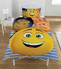 Emoji-Bettwäsche-Set, mehrfarbig, Single
