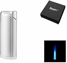 Eurojet - Zigarrenbrenner - Zigarrenfeuerzeug - Feuerzeug - Metall - Humidor