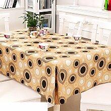 Europäische Garten Tischdecke/Einweg-Kunststoff-Folien für die Imprägnierung/Tischdecken/PVCTischdecke decke/ Öl-Mat-C 137x152cm(54x60inch)