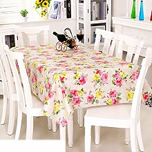 Europäische Garten Tischdecke/Einweg-Kunststoff-Folien für die Imprägnierung/Tischdecken/PVCTischdecke decke/ Öl-Mat-T 137x152cm(54x60inch)