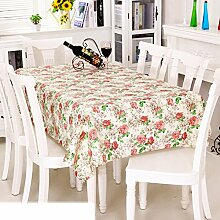 Europäische Garten Tischdecke/Einweg-Kunststoff-Folien für die Imprägnierung/Tischdecken/PVCTischdecke decke/ Öl-Mat-S 137x200cm(54x79inch)