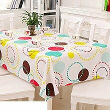 Europäische Garten Tischdecke/Einweg-Kunststoff-Folien für die Imprägnierung/Tischdecken/PVCTischdecke decke/ Öl-Mat-K 137x152cm(54x60inch)