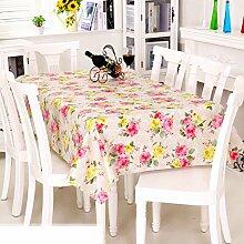 Europäische Garten Tischdecke/PVCTischdecke decke/Einweg-Kunststoff-Folien für die Imprägnierung/Tischdecken/ Öl-Mat-M 137x180cm(54x71inch)