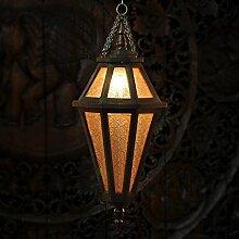 FAYM-Kronleuchter Aus Holz Bar Flur Garten Kreative Beleuchtung