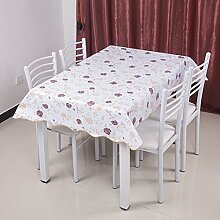 Garten-Tischdecke/Einweg-Kunststoff-Folien für die Imprägnierung/Tischdecken/PVCTischdecke decke/ Öl-Mat-B 137x183cm(54x72inch)