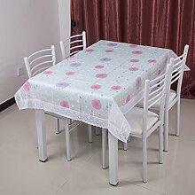 Garten-Tischdecke/Einweg-Kunststoff-Folien für die Imprägnierung/Tischdecken/PVCTischdecke decke/ Öl-Mat-C 106x152cm(42x60inch)