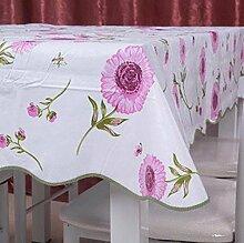 Garten-Tischdecke/Einweg-Kunststoff-Folien für die Imprägnierung/Tischdecken/PVCTischdecke decke/ Öl-Mat-E 137x183cm(54x72inch)