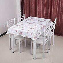 Garten-Tischdecke/Einweg-Kunststoff-Folien für die Imprägnierung/Tischdecken/PVCTischdecke decke/ Öl-Mat-F 137x183cm(54x72inch)
