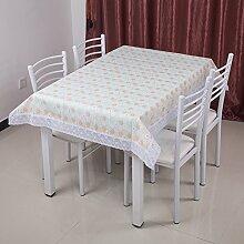 Garten-Tischdecke/Einweg-Kunststoff-Folien für die Imprägnierung/Tischdecken/PVCTischdecke decke/ Öl-Mat-G 137x183cm(54x72inch)