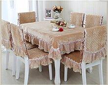 Garten-Tischdecke/Tuch/ Leinen Tabelle Tuchgewebe/Tischdecke decke/Tischdecke decke/Rundtischdecken/Tischdecken-C Durchmesser180cm(71inch)