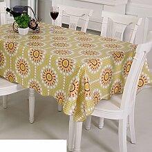 Garten-Tischdecke/ Wasser und Öl Beweis Tischdecke/Einweg-Plastik Tischdecke/PVCMatte/Tischdecke decke/ Öl-Tischdecke-K 106x152cm(42x60inch)