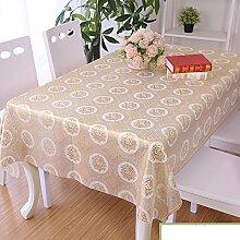 Garten-Tischdecke/Wasserdichte Plaid/Tischdecke decke/Tischdecke decke/Einfachen und modernen Esstisch Pad/Tischdecken-P 137x220cm(54x87inch)