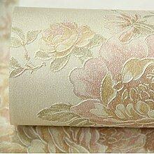 Garten Vliestapete/warm modernen Tapeten/Wohnzimmer Schlafzimmer Tapeten/TV Kulisse Tapete-B