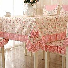 GJ&H Moderne einfache Garten Wind Jacquard Polyester Faser Bogen Spitze rechteckigen Tisch Tuch Kaffee Tuch fühlen sich bequem Senkung gute Dekoration Küche Esszimmer Tischdecke,A,150*200cm