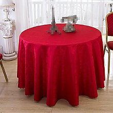 GJ&H tablecloth Moderne einfache Garten Wind Runde Tischdecke fühlen sich wohl und umweltfreundliche Gesundheit atmungsaktiv drapieren gut Keine Falten Küche Esszimmer Tischdecke,B,diameter160cm