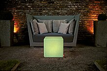 Granite Cube Outdoor / LED Sitzwürfel