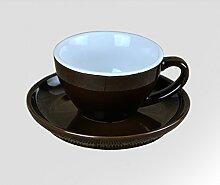 graviert Kaffee-Haferl Keramik Kaffeetasse Teetasse-D