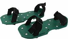 Grünen Garten Rasenlüfter Kurz Spike Schuhe Für Garten Rasenpflege