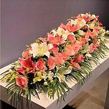 HA@GAO, Zuhause Hochzeit Garten Dekoration,Lieferinhalt:Keine Flaschen-1.2m